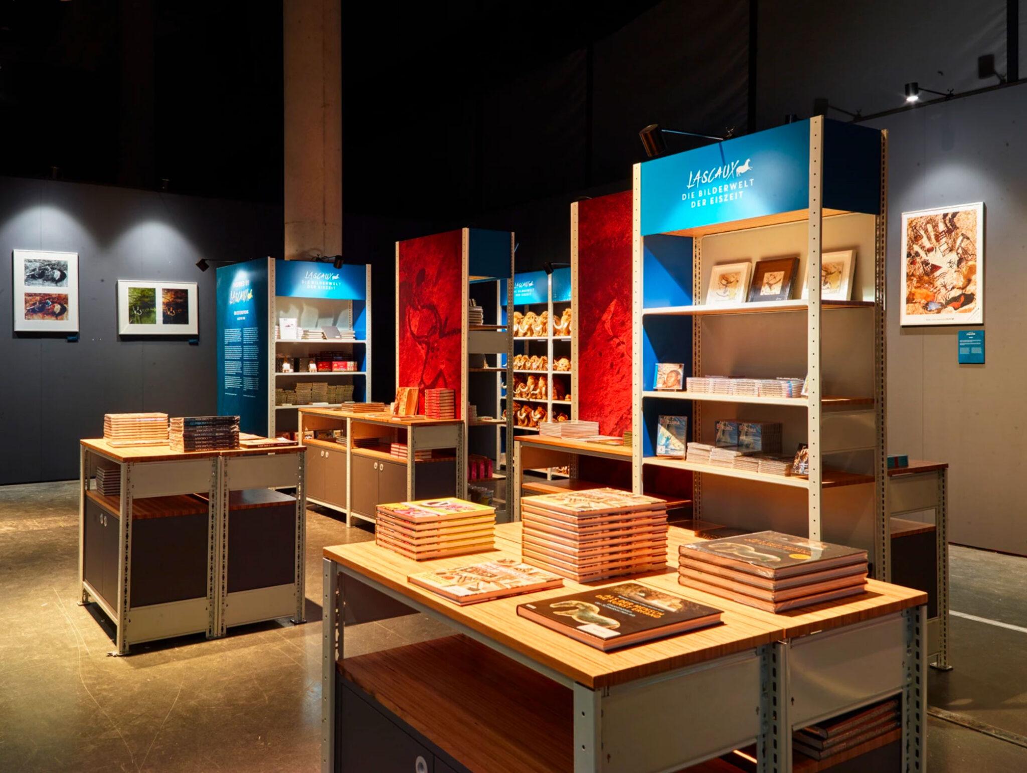 Modularer Shop mit Mini-Ausstellung